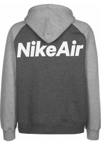 Nike Sportswear - Sweatjakke /Træningstrøjer - dark grey heather/white - 1
