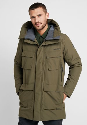 DREW MENS - Parka - crocodile green