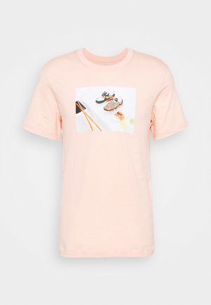 TEE FOOD SHOESHI - T-shirt imprimé - arctic orange