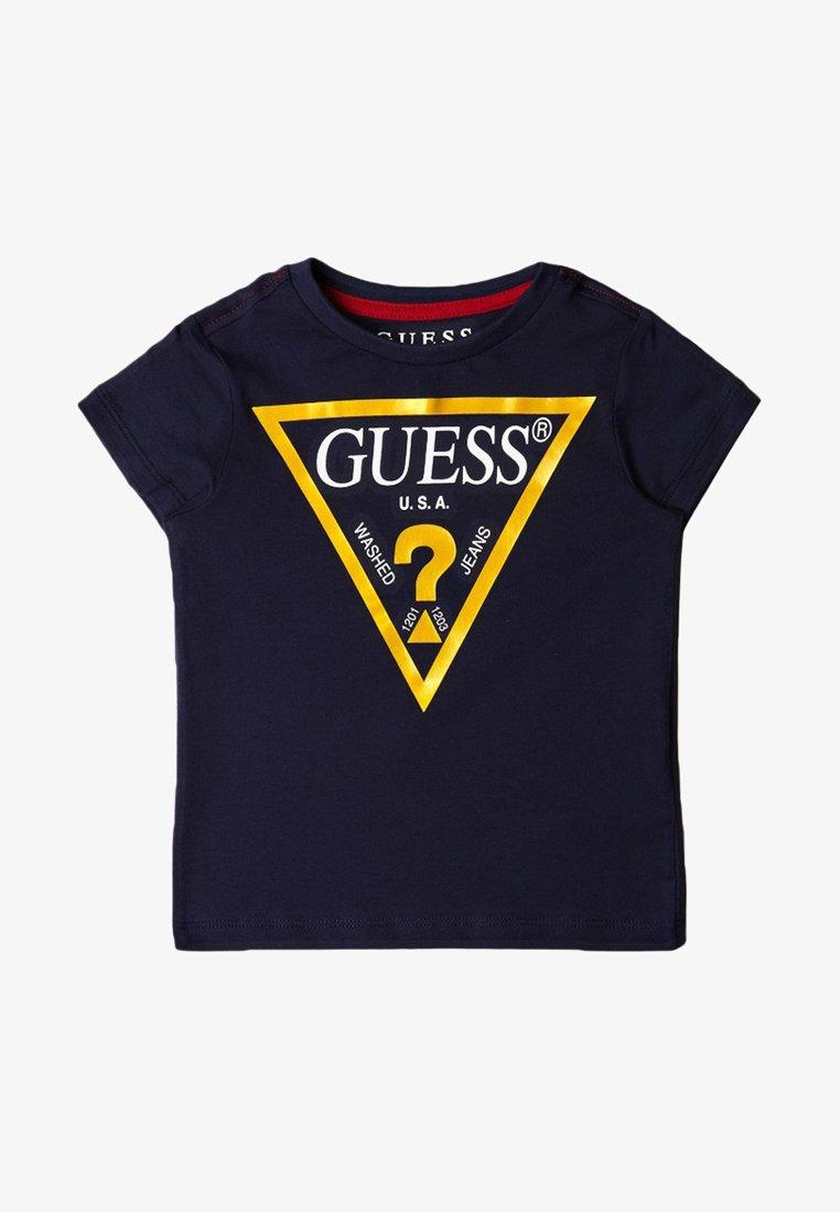 Guess - TODDLER CORE - Camiseta estampada - dark blue