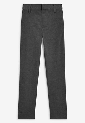 BLACK FORMAL STRETCH SKINNY TROUSERS (3-16YRS) - Pantalones - mottled grey