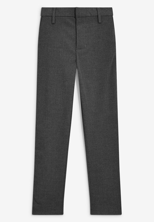 BLACK FORMAL STRETCH SKINNY TROUSERS (3-16YRS) - Broek - mottled grey