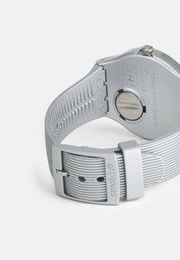 Swatch - METALINE UNISEX - Zegarek - silver-coloured - 1