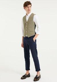 WE Fashion - Suit waistcoat - olive green - 1