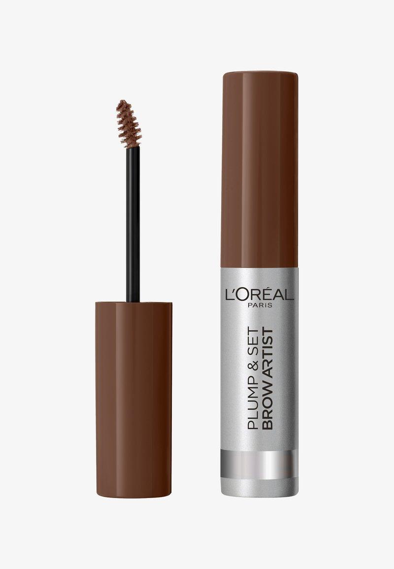 L'Oréal Paris - BROW ARTIST PLUMP & SET - Eyebrow gel - brunette