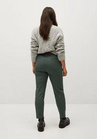 Violeta by Mango - JOSE8 - Trousers - grün - 2