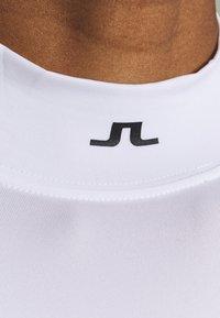 J.LINDEBERG - ÅSA PRINT SOFT COMPRESSION - Sports shirt - white - 4