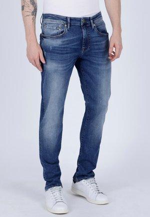 JAMES - Slim fit jeans - blue denim