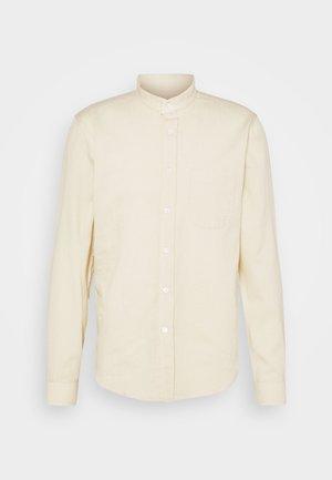 SHIRT TEXTURED STRIPE - Shirt - yellow