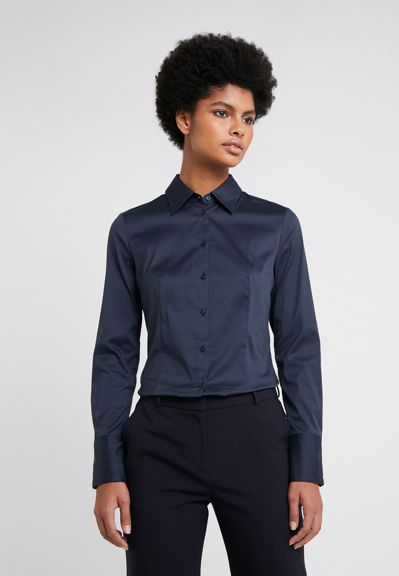 HUGO - THE FITTED - Button-down blouse - navy