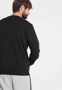 adidas Performance - Essentials 3-Stripes Sweatshirt - Mikina - black/white - 2