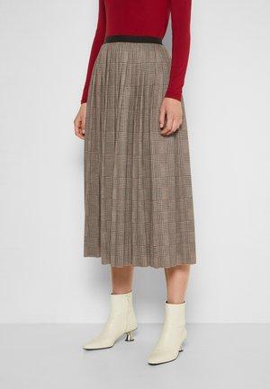 MARGIE - A-line skirt - camel