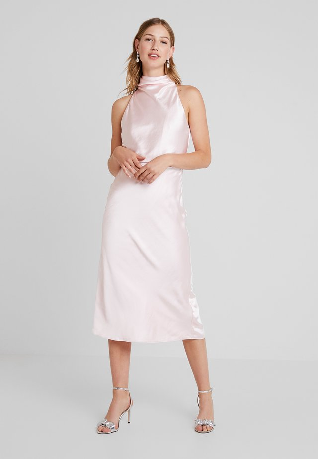 MANOR MIDI DRESS - Robe de soirée - blush