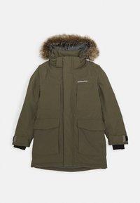 Didriksons - MADI PARKA - Hardshell jacket - fog green - 0