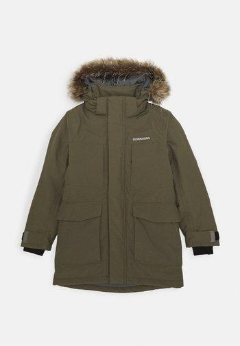 MADI PARKA - Hardshell jacket - fog green