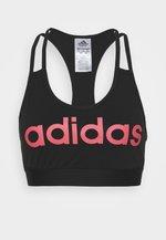 Sportovní podprsenka - black/pink