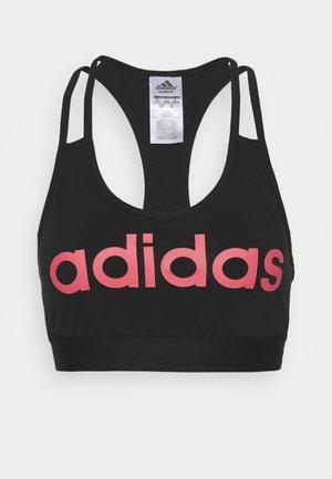 Biustonosz sportowy - black/pink