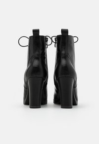 Caprice - BOOTS - High heeled ankle boots - black - 3