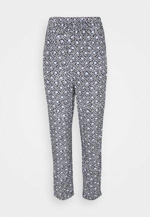TILE TAPERED  - Pantalon classique - black