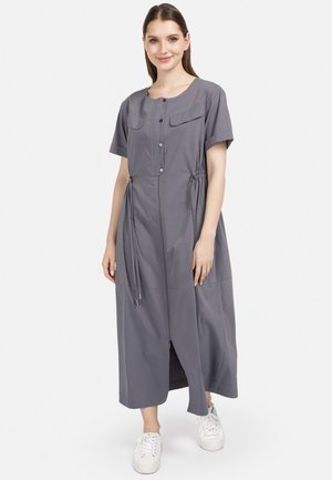 Maxi dress - dunkel grau