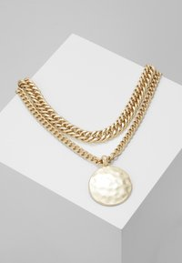 Topshop - SHELL INLY DISC 2 PACK - Necklace - gold-coloured - 0