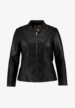 CARROBBER JACKET - Veste en similicuir - black