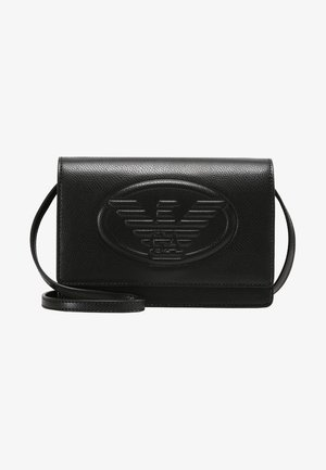 BORSA TRACOLLA LOGO  - Across body bag - nero