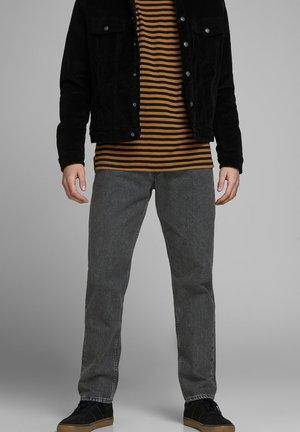 CHRIS ORIGINAL CR - Straight leg jeans - black denim