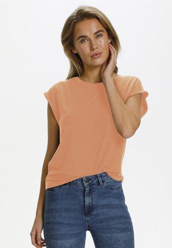 Basic T-shirt - terra cotta