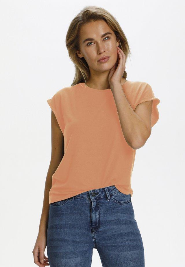 T-shirt basic - terra cotta