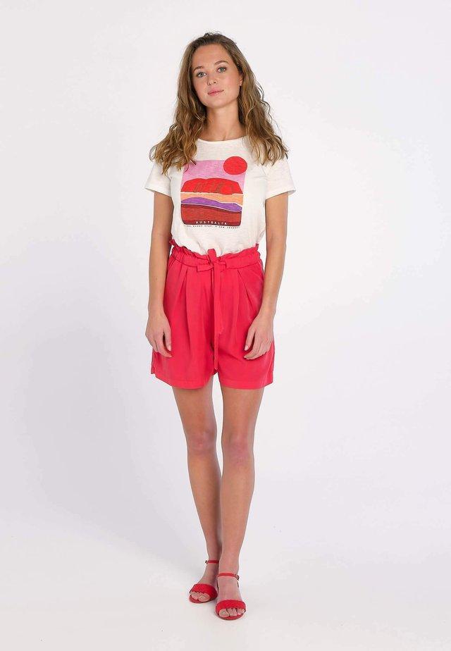 NORTHERN TERRITORY ULURU - T-shirt print - blanc