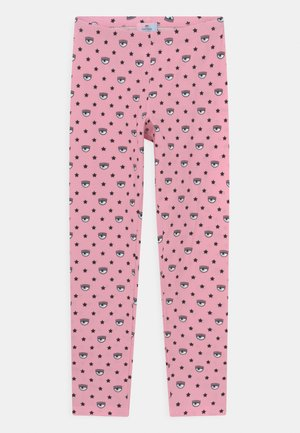 ALL OVER - Leggings - Trousers - rosa fairy tail