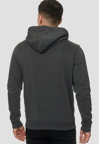 INDICODE JEANS - ELM - Zip-up hoodie - charcoal - 2