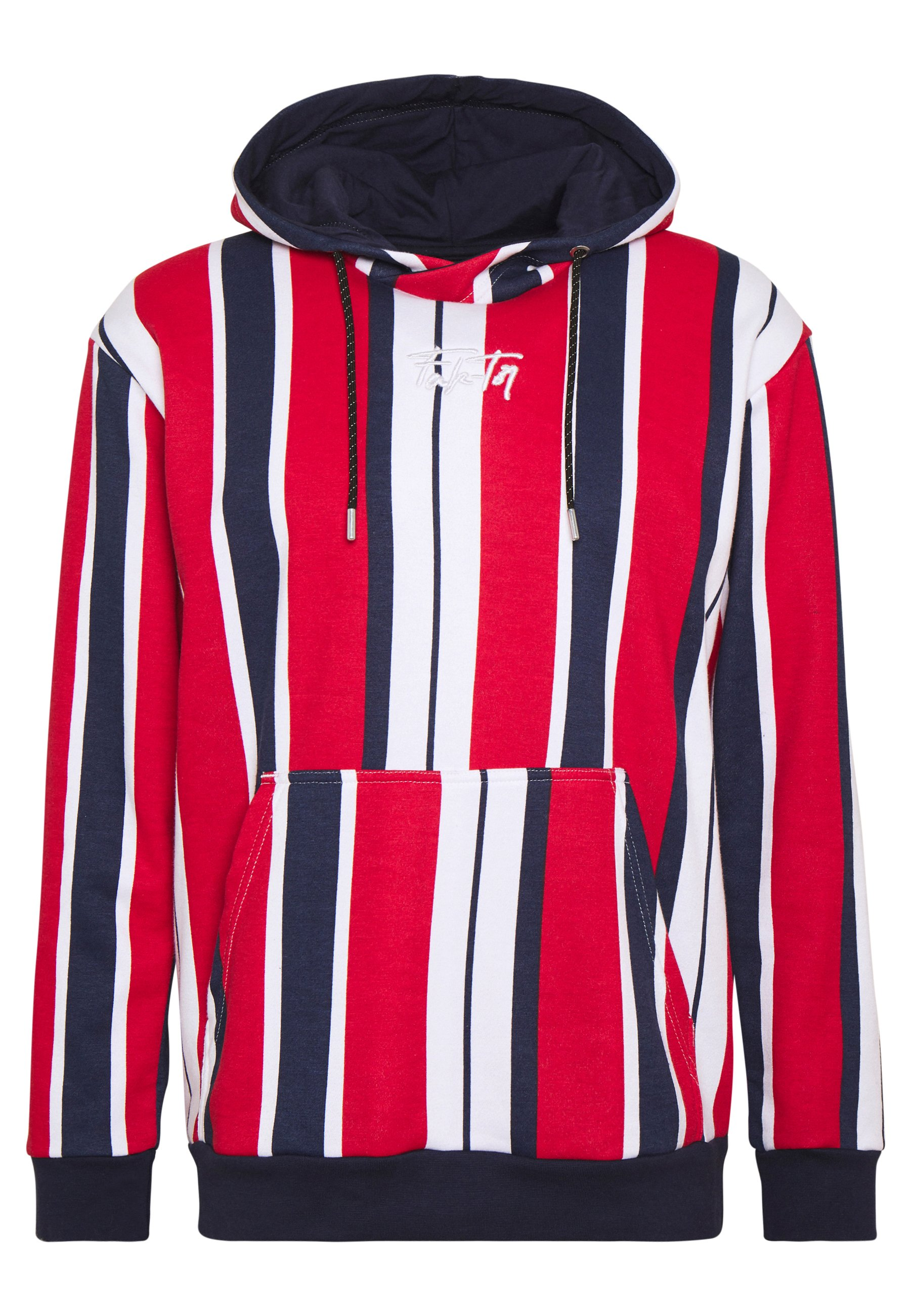 FAKTOR NOSTRA HOOD - Hoodie - red/white/dark blue