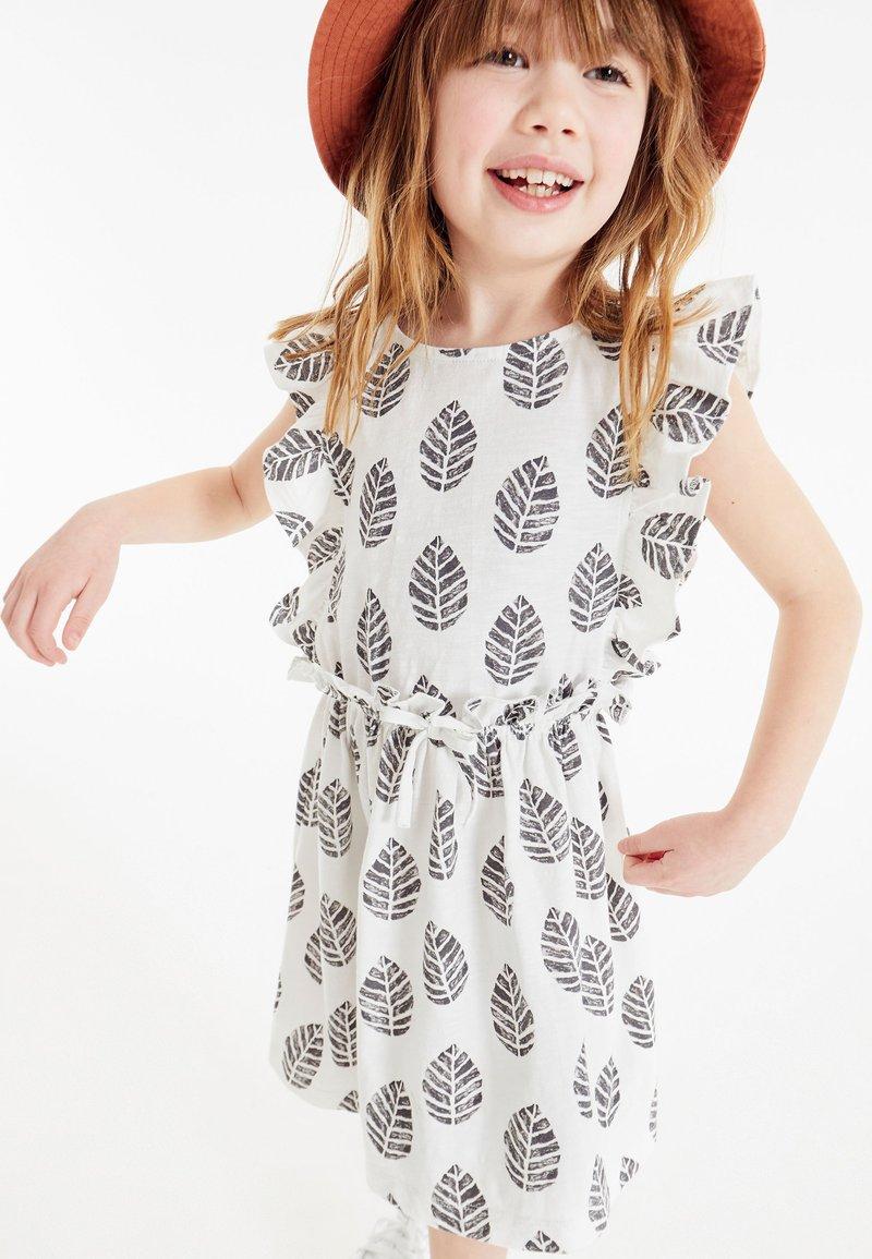Next - Jersey dress - white