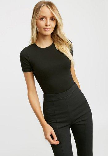 Basic T-shirt - z noir