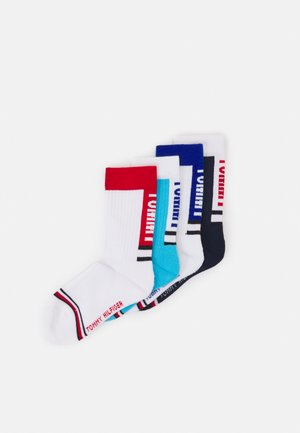 KIDS SPORT SOCK 4 PACK UNISEX - Socks - white