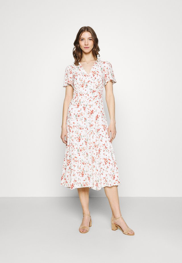 BRIANNA MIDI DRESS - Korte jurk - savannah floral