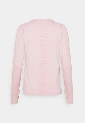 SEAMLESS LONG SLEEVE - Longsleeve - soft pink