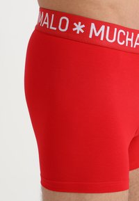 MUCHACHOMALO - 4 PACK - Boxerky - black/blue/red - 7