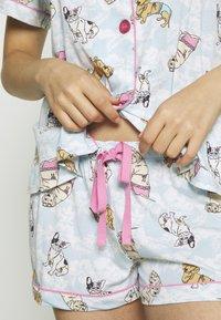PJ Salvage - SET - Pyjamas - sky - 5