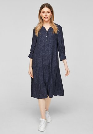 Day dress - navy aop
