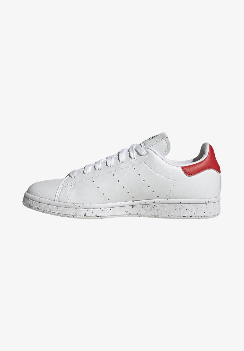 adidas Originals - STAN SMITH - Trainers - ftwr white ftwr white red