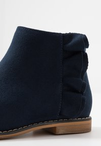 Cotton On - RUFFLE ANKLE BOOT - Classic ankle boots - navy - 2