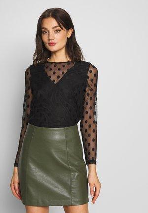 ONLVELMA  - Long sleeved top - black
