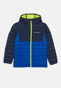 Columbia - POWDER LITE BOYS HOODED - Snowboard jacket - bright indigo/collegiate navy - 0