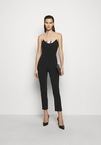 David Koma - Jumpsuit - black/silver - 1