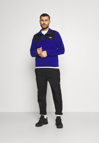 The North Face - GLACIER SNAP NECK - Fleece jumper - bolt blue/black - 1