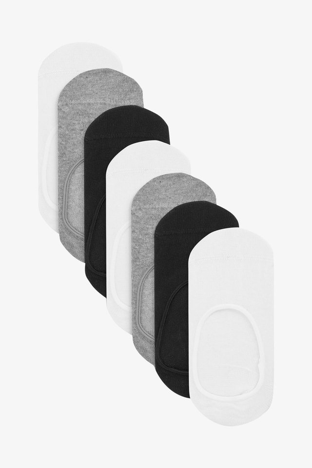 7 PACK COTTON RICH INVISIBLE TRAINER SOCKS (OLDER) - Trainer socks - multi-coloured
