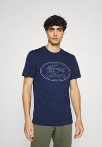 Lacoste - Print T-shirt - scille - 0